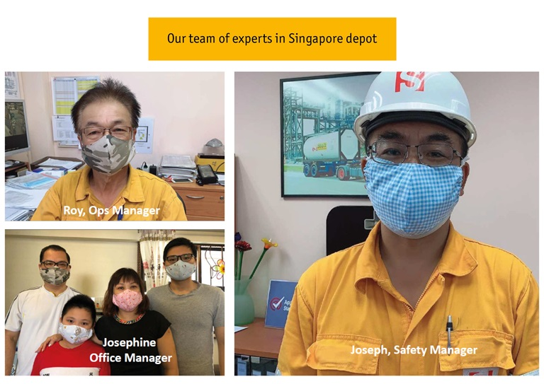 Singapore depot team of experts